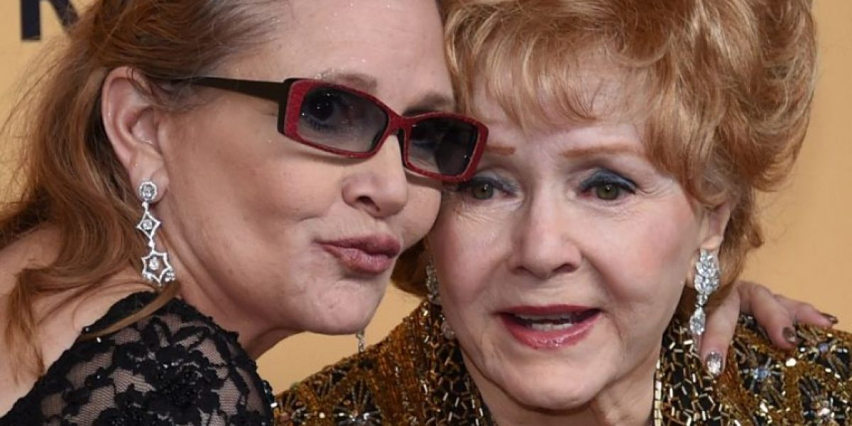 Cadena estadounidense transmitirá documental de Debbie Reynolds y Carrie Fisher