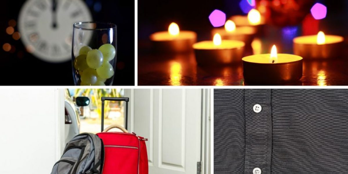 Tradiciones en la víspera del Año Nuevo ¿cuáles son las tuyas?