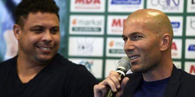 La amistad del ahora técnico francés y el exdelantero brasileño ha trascendido las etapas del futbol. Foto:AFP