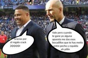 La amistad del ahora técnico francés y el exdelantero brasileño ha trascendido las etapas del futbol. Foto:Meme Deportes