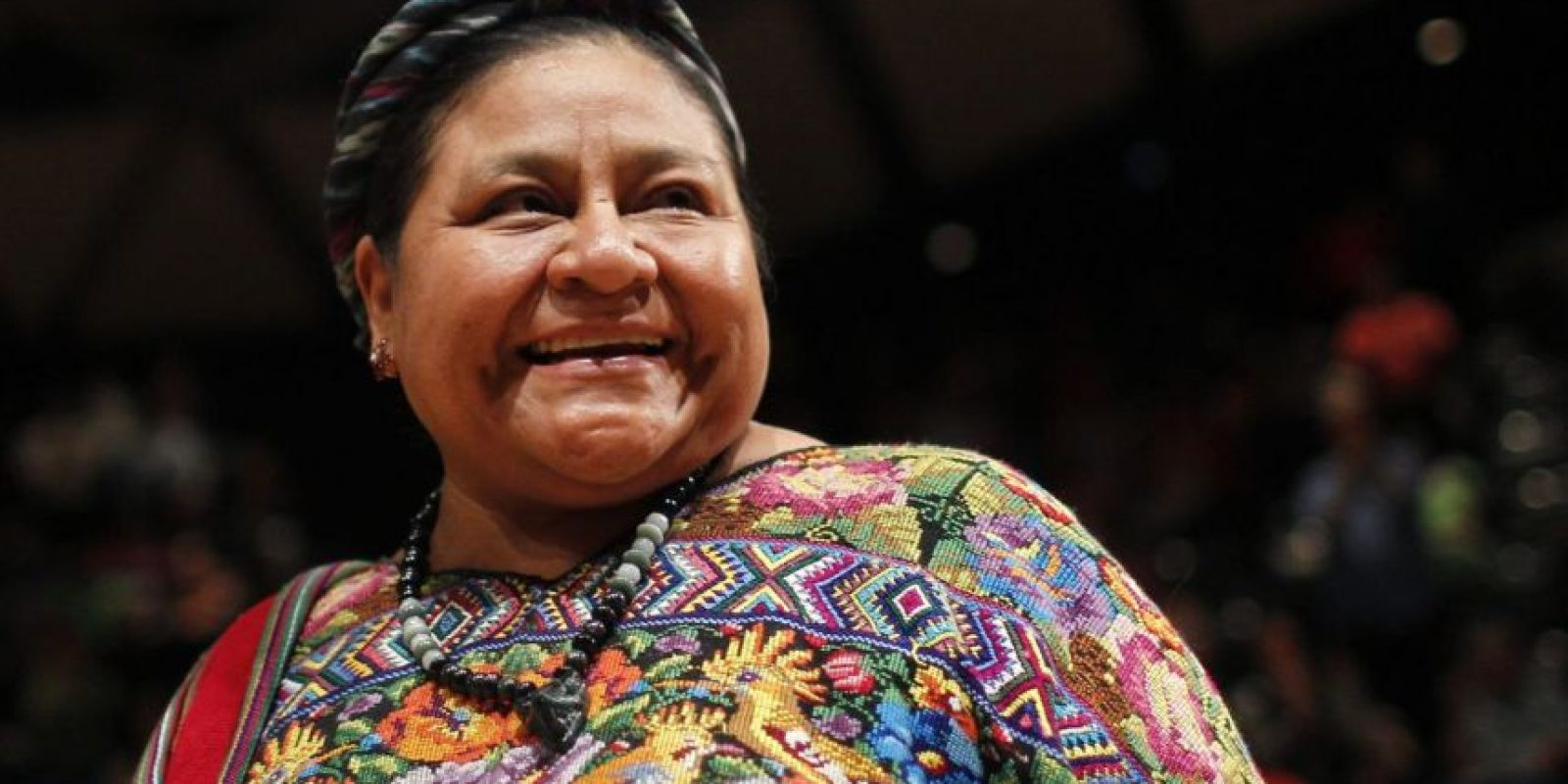 Rigoberta Menchú, Premio Nobel de la Paz Foto:agencias