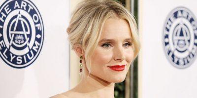 El maquillaje de Kristen Bell la transformó, ya que previo a los Golden Globes lució irreconocible