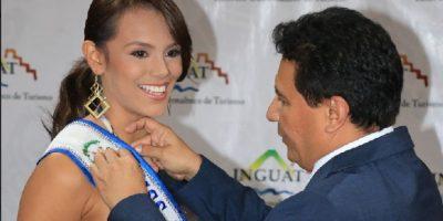 Miss Guatemala Universo, Virginia Argueta, es nombrada Embajadora de Turismo