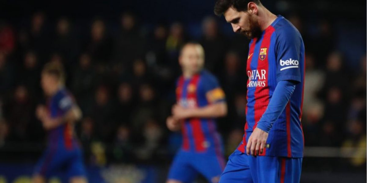 Decapitan estatua de Messi el día que Ronaldo fue nombrado el Mejor Jugador