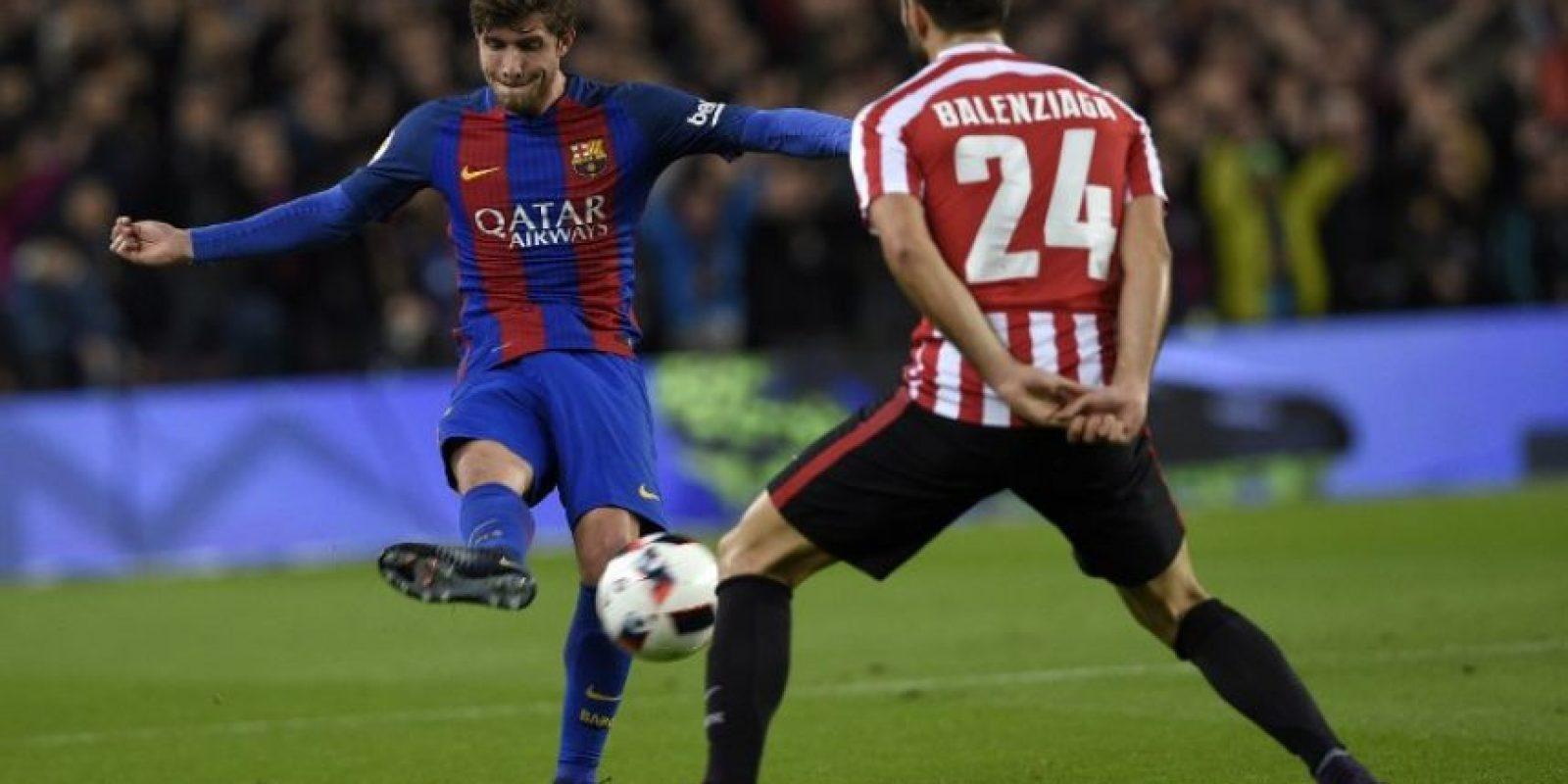 El cuadro azulgrana hizo valer su condición de local y revirtió la serie contra el conjunto vasco. Foto:AFP