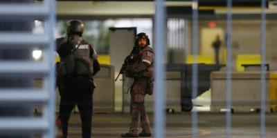 Suspenden al oficial que filtró el vídeo del ataque en el aeropuerto en Florida