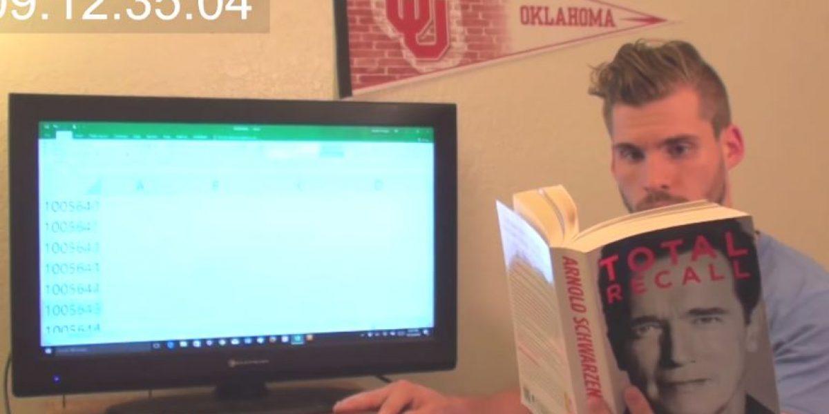 VIDEO. Pasó 9 horas presionando un botón para saber el máximo de filas de Excel, ¡y lo descubrió!