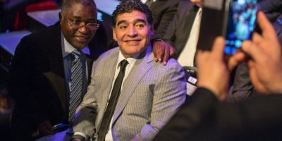 Maradona criticó duramente a Messi y al Barça por no asistir a la premiación de la FIFA