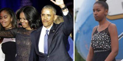 ¿Por qué la hija menor del presidente Obama no asistió a su discurso de despedida?