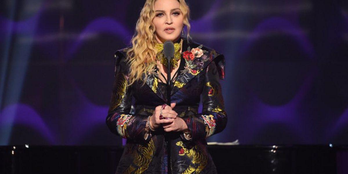 Madonna recibe premio como la