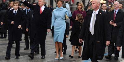 Guardaespaldas de Donald Trump tiene brazos falsos