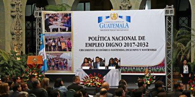 Gobierno busca evitar la migración con política de empleo