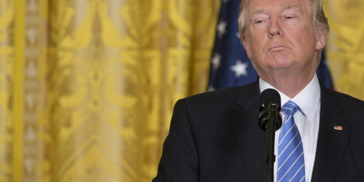 Trump amenaza por las filtraciones de inteligencia a la prensa
