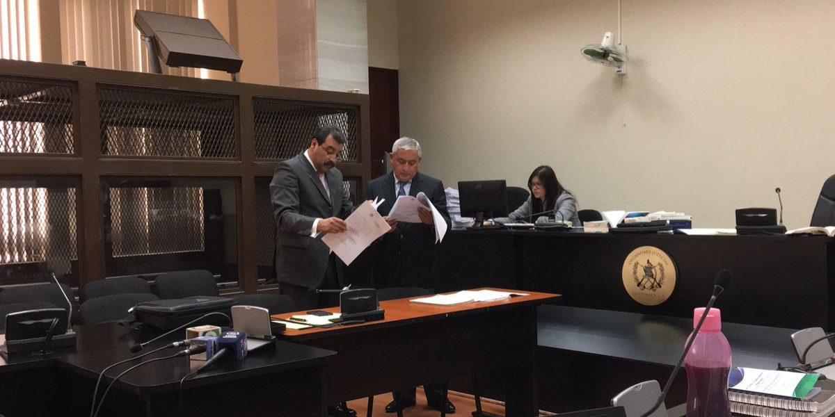 La reacción del expresidente Otto Pérez ante revés judicial en el caso La Línea