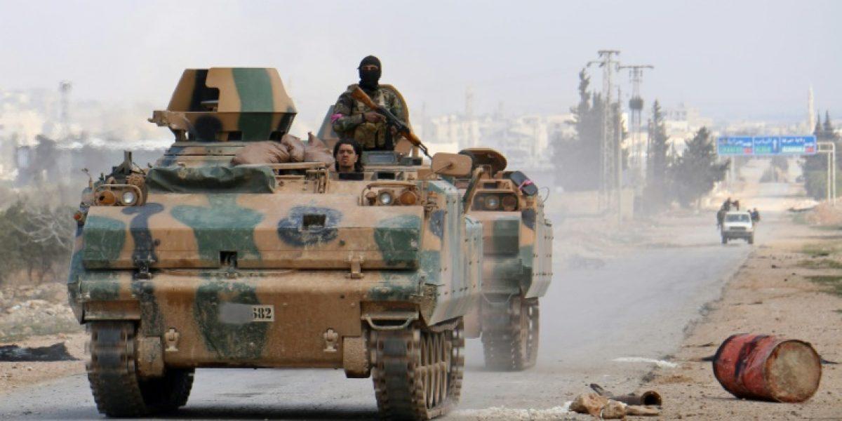 Nueve civiles mueren en bombardeos turcos contra Al Bab (OSDH)