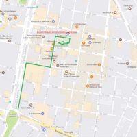 Mapa parqueo AVIA. Imagen Por: Mapa parqueo AVIA. Foto: Cortesía