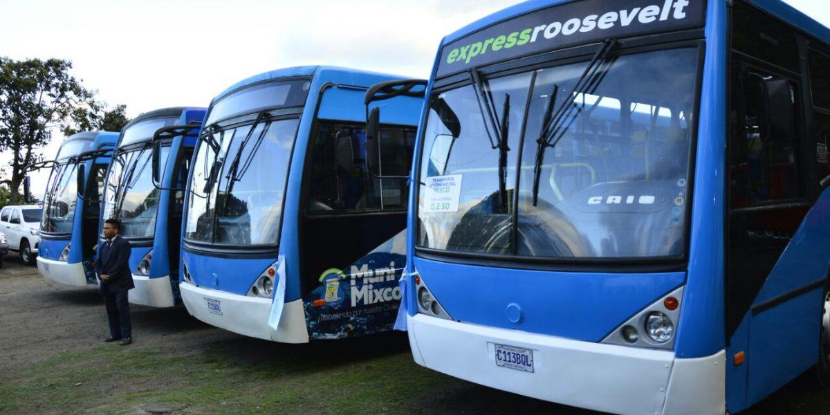Da inicio el nuevo servicio de transporte de mixco a la - Servicio de transporte ...