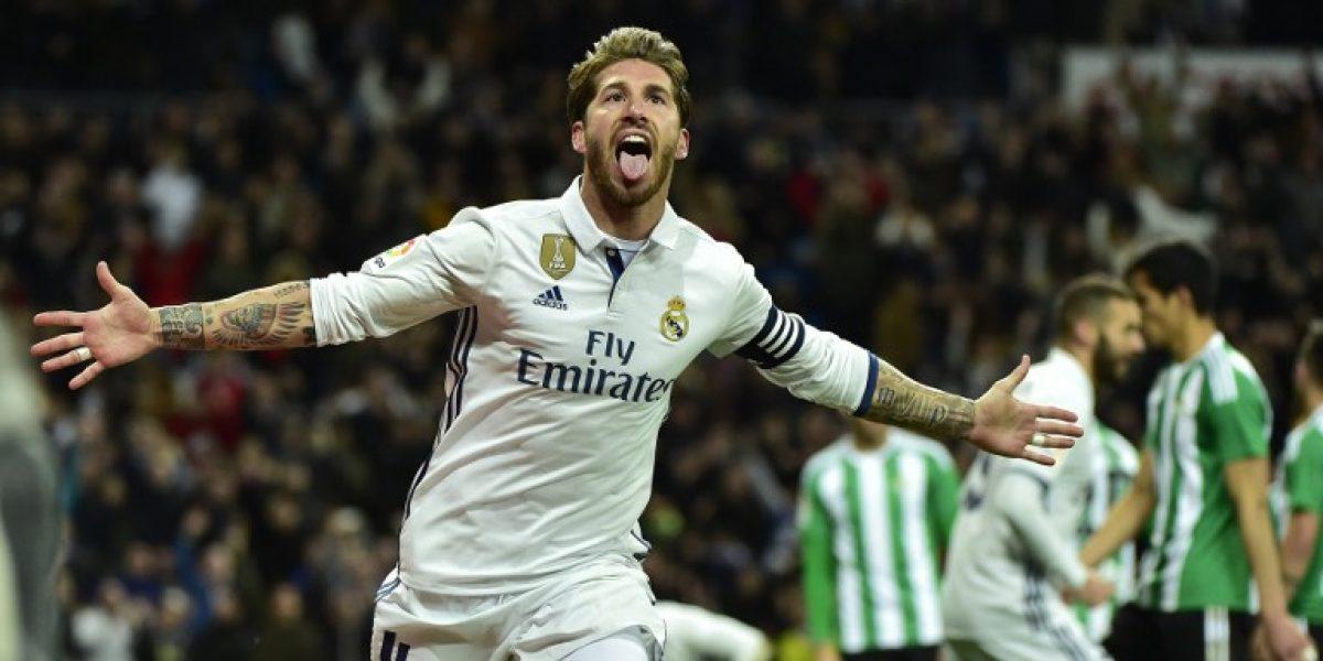 Sergio Ramos vuelve a marcar un gol que le da un triunfo al Madrid