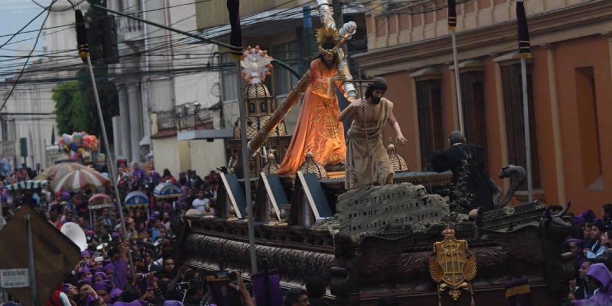 Jesús de la Justicia sale a las calles en sus bodas de plata de procesión