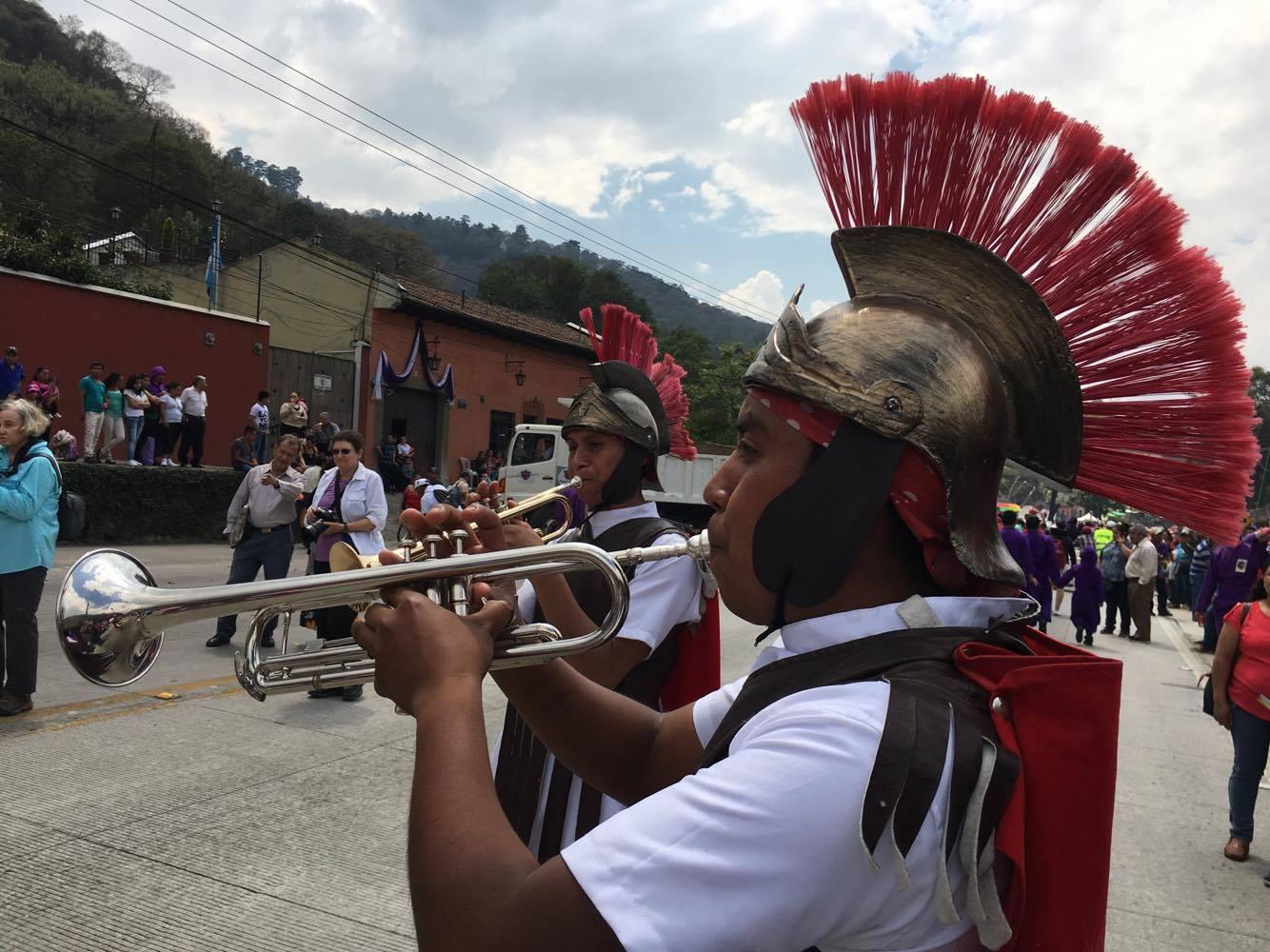 Escuadrón de romanos de San Juan Sacatepéquez