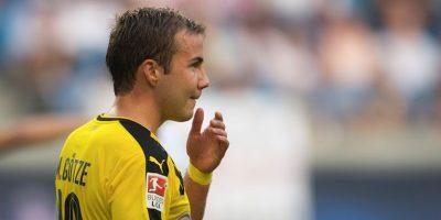 Problemas de metabolismo dejan fuera a Götze el resto de la temporada