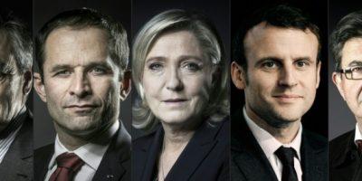 Crucial debate entre los candidatos a la presidencia francesa