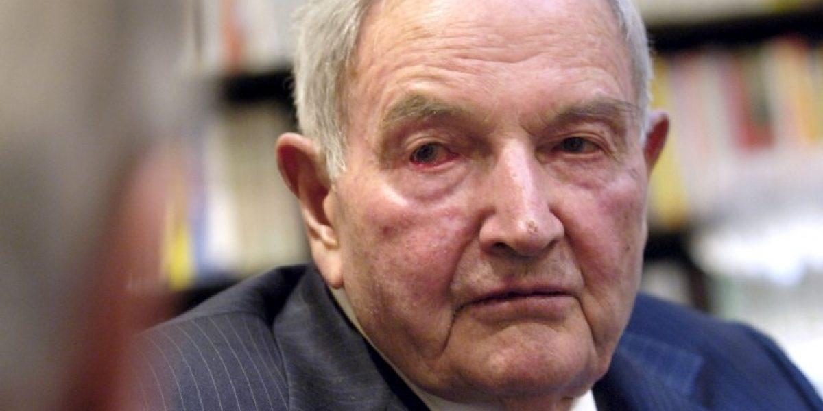 Murió David Rockefeller, banquero y millonario estadounidense