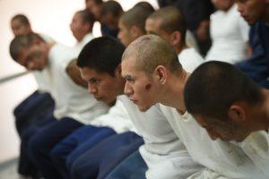 Los pandilleros que protagoniaron un motín en el correccional Etapa II. Imagen Por: Edwin Bercián