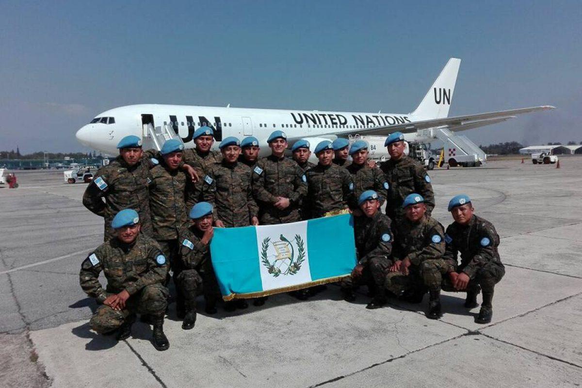Nuevo contingente militar de Guatemala viaja a R.Democrática del Congo