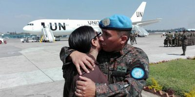 Nuevo contingente militar viaja al Congo