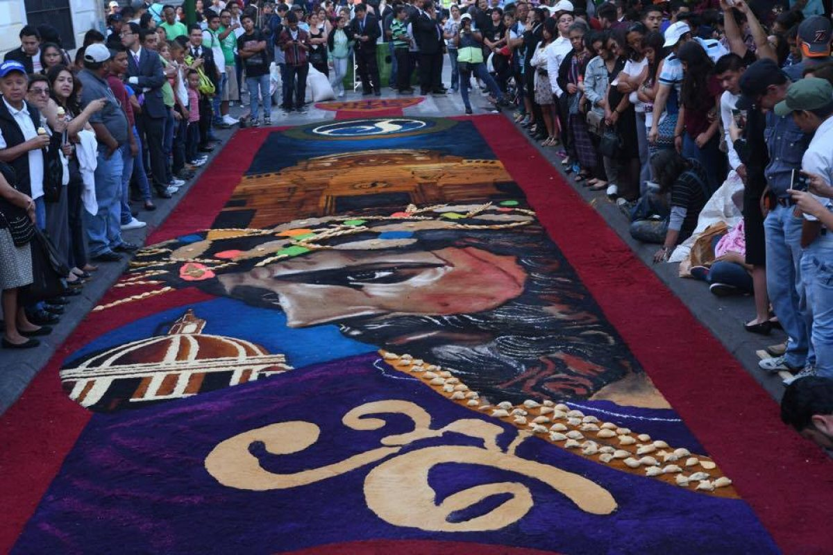 La alfombra de la sexta que arranc suspiros de los Alfombras persas en mexico