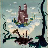 """imagenes-peliculas-disney. Imagen Por: Mickey, Goofy y Donald en un pintura para """"Fun, Fantacy Free"""" de 1940. La historia era """"Jack y las habichuelas"""". Foto: Taschen/Disney"""