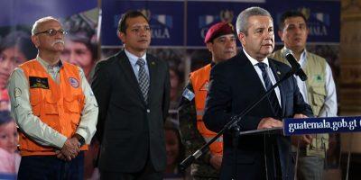Gobierno de Guatemala declara Estado de Calamidad