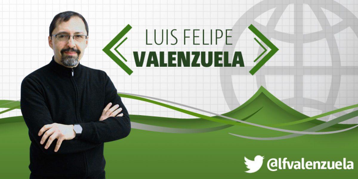 """Luis Felipe Valenzuela: """"Prevenir o lamentar, he ahí el dilema"""""""