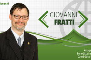 "Giovanni Fratti: ""El interés nacional"""