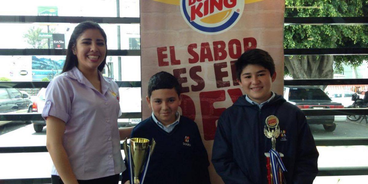 Tus hijos pueden participar en el campeonato de matemática de Burger King 2017