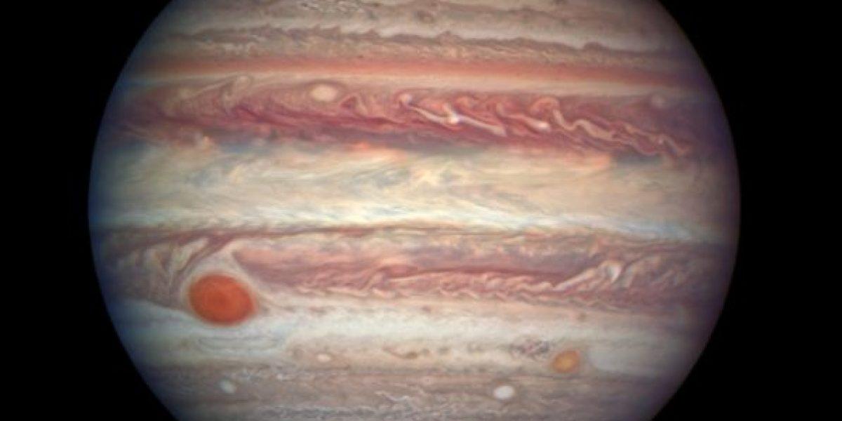¿Qué muestra la nueva imagen de Júpiter captada por Hubble?