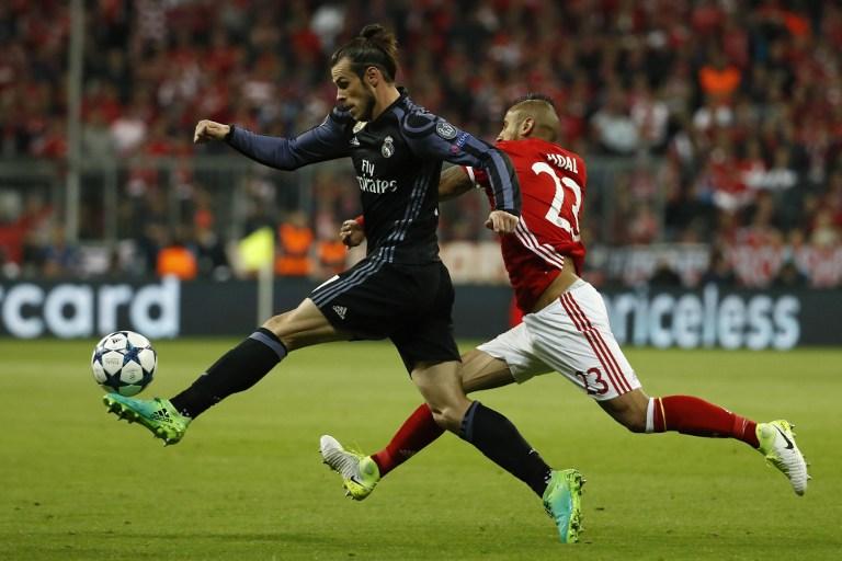 Gareth Bale contra el Bayern Múnich
