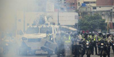 EN VIVO. Violentos enfrentamientos en las calles de Venezuela