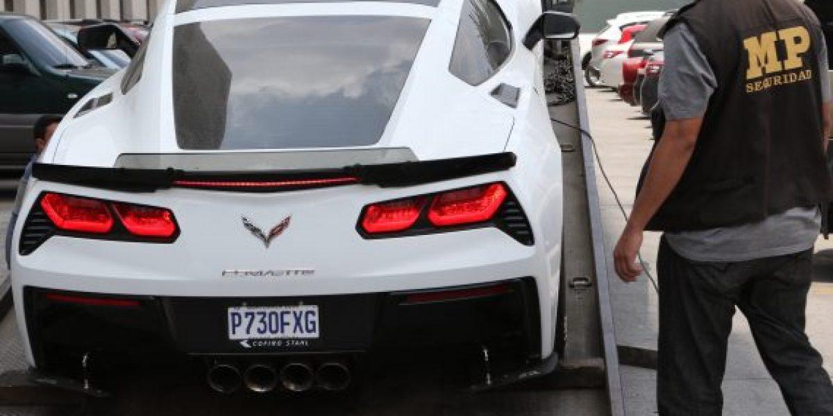 """MP entrega a la Senabed un lujoso vehículo vinculado a alias """"Ducati"""""""
