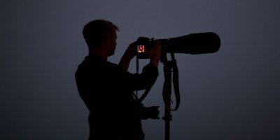 Los fotógrafos también pueden respirar, pues probablemente no tengan problemas. Foto:Getty Images