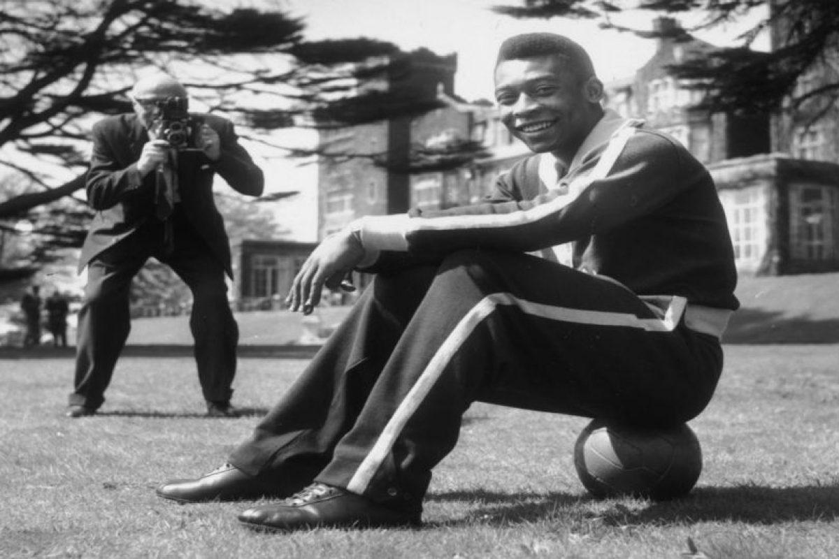 Pelé metió más de mil goles en toda su carrera. Foto:Getty Images