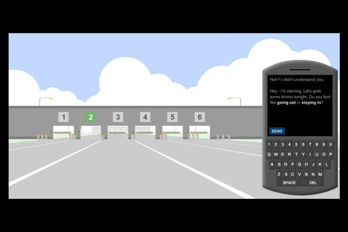 Manden mensajes mientras conducen, ¡cuidado con los obstáculos! Foto:The New York Times