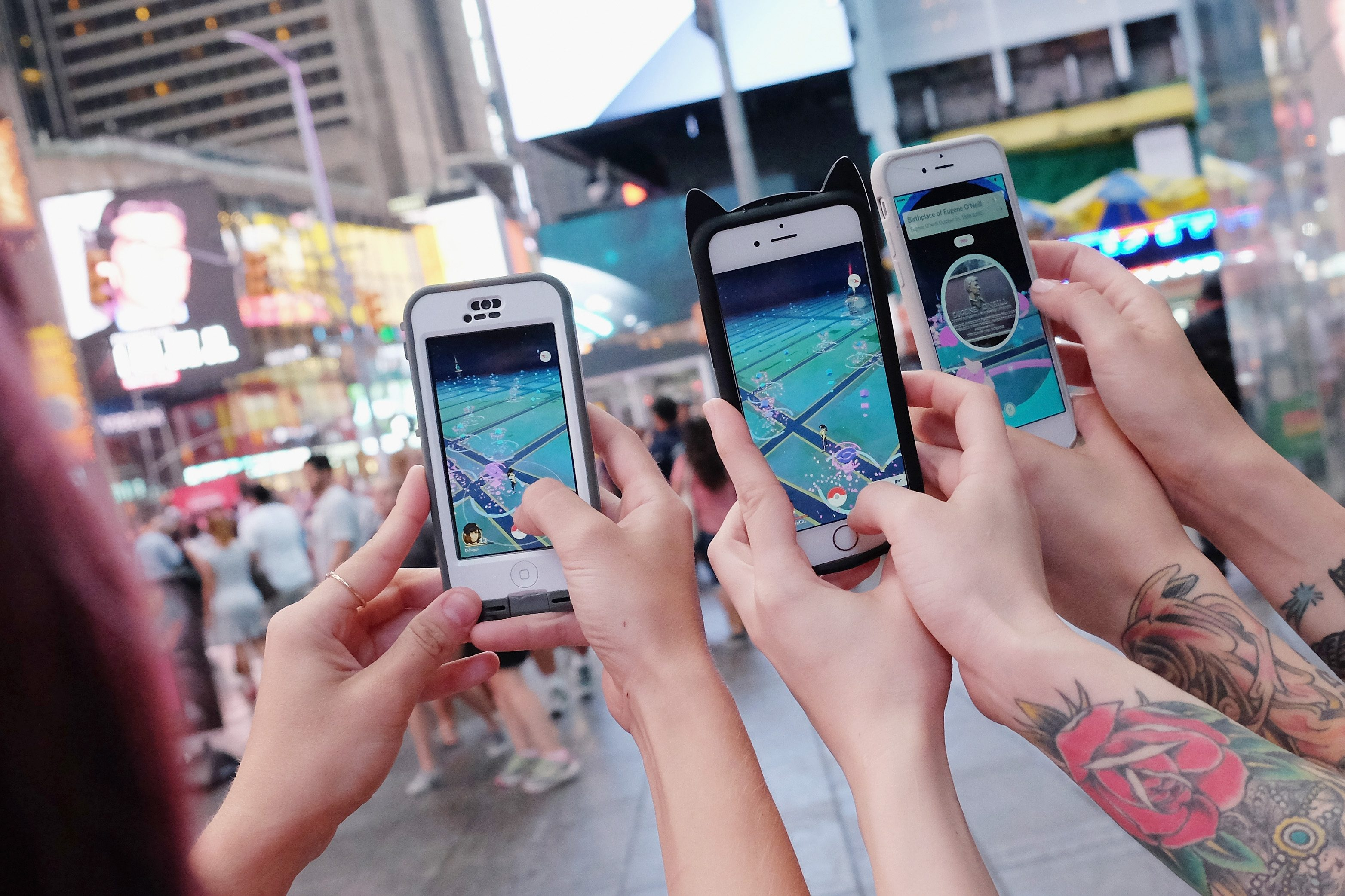 pokemon go new york