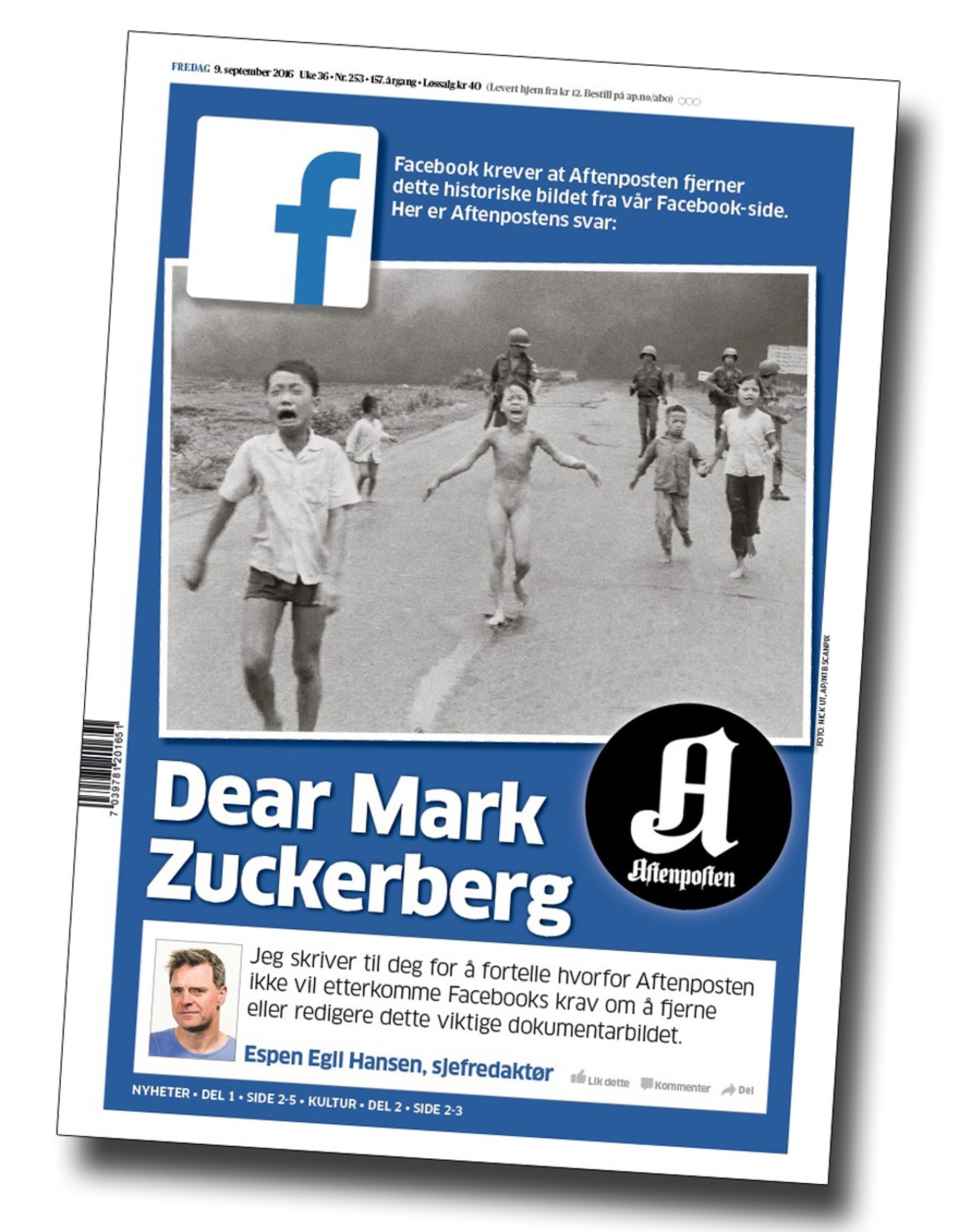 Facebook censura fotos