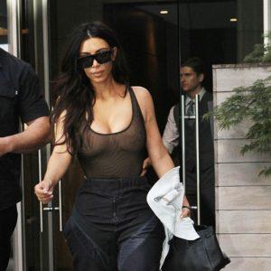 Kim Kardashian sostén