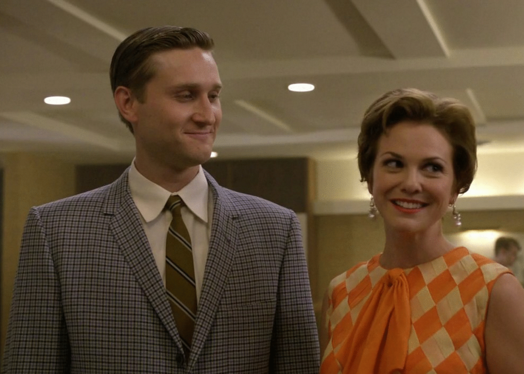 alex mack protagonista mad men foto