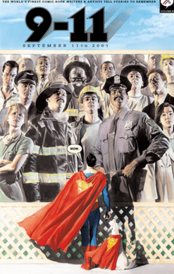 superman 9/11 comic foto