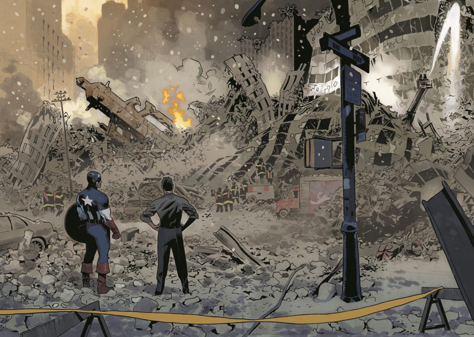 capitan américa 9/11 11 de septiembre