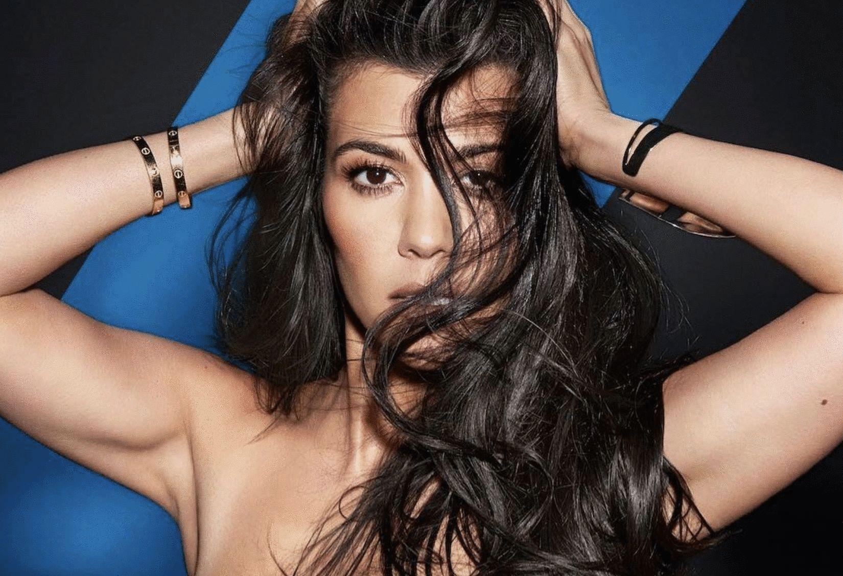 Kourtney Kardashian, cuerpo, Instagram, vestido,